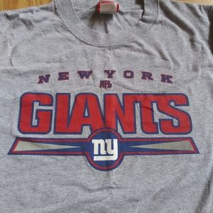 NFL NY Giants Gray Men's T-Shirt XL